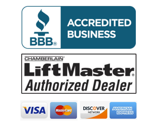 BBB LiftMaster Accepted Credit Cards